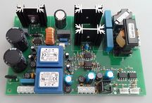 Ultrasonic generators of low frequency for industrial and medical applications