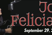 """An Evening with JOSE FELICIANO at The Newton Theatre 9/29 / Join us for an intimate evening with Jose Feliciano, acclaimed by critics around the world as """"The Greatest Living Guitarist."""" His accomplishments include forty-five Gold and Platinum records, nine Grammy Awards, and the LARAS Award for Lifetime Achievement, among many other honors. His hits include Light My Fire, Chico And The Man, Che Sara, and holiday favorite Feliz Navidad."""