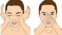 Gesichtsmasken falten