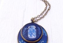 Cabochon and pendants
