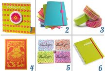Top stationery picks / Some of my favourite stationery items including notebooks, cards, washi tape and writing paper.