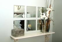 Renos / I Love That!: shelf space in bedroom, great idea!