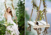 Свадьба. Лес