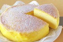 Japonský tvarohový dort