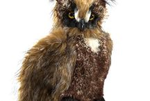 Owl ~ Toys, Games, Plush / Owl toys, games, plush stuffed animals and puppets: inspiration from Hooty the Owl; character in the Thornton W. Burgess books.