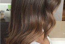 Strobing/conture hair
