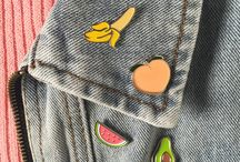 Pins for funny days / Some fun in fashion