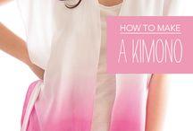 Costura: Kimono