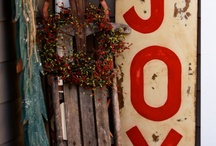 CHRISTMAS - SIGNS / by Jocelyn Gouthro