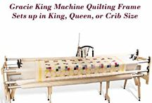 Machine  quilting  frames
