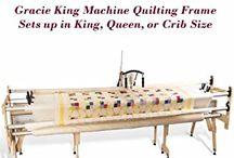 Machine  quilting  frames