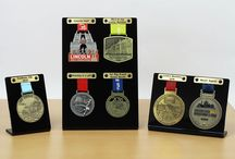Medal Display Ideas / Displaying our range of medal displays, ideal for runners medals. We will be expanding this range in the near future.