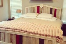 Headboard ideas / by Mary Anne Flesch