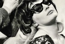 Vintage Eyewear 1960- Celebrities / 1960's Celebrities wearing eyewear and sunwear / by Optical Vision Resources