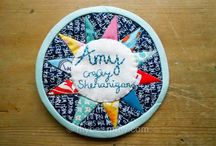 Quilted Name Tags / by The Charming Needle