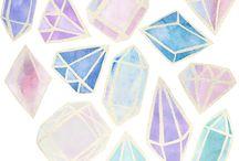 Gems,crystals,etc.❤