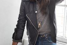 Leather Jackets / Exhibition inspiration