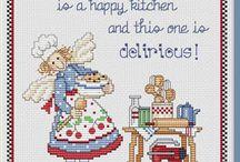 La cucina / La cucina a punto croce