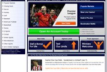 Online Sports Betting Sites / These are some of the places where you can wager on sports online.