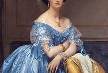 Les Princesses de Broglie par Ingres. / Elles étaient belles, intelligentes et célèbres. Elles ont été peintes par Ingres.