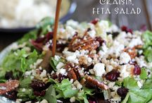Salads / salads, food, recipes