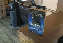 Books Coming Aboard! / The Kydd Series snapped aboard HMS 'Victory'   (photographs: Paul Waite)