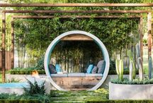 sunken garden ideas