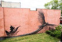 urban art. / by Brina Lip