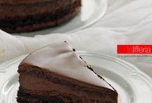 torta alla Nutella è ciocolato