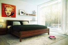 Bedroom ideas / inspiration for a retro inspired bedroom