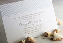 Wedding invite design inspiration