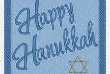Hanukkah Blocks Embroidery Designs / Machine embroidery designs to celebrate Hanukkah  http://cindysembroiderydesigns.com/Hanukkah-2014-Designs.html