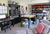 Craft Room Ideas / Great craft rooms and ideas for craft rooms