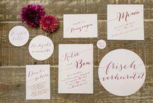 Hochzeitseinladungen / Ideen für die Hochzeitseinladung (Papeterie) von Dinah und Kilian