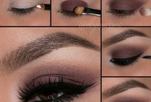 Make Up Bruine Ogen