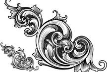 Ornament tattoo designs