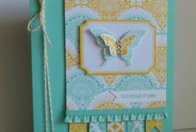 Stampin Up Eastern Elegance / Items made using Eastern Elegance papers