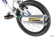 La Marmitta per la Bicicletta / Turbospoke, pedala e crea il Sound di una moto!