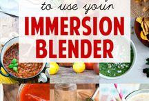 Immersion Blender Recipes