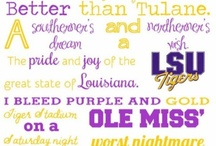 Geaux Tigers / by Lindsey Fortenberry