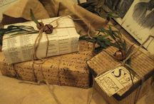 Bows & Wrappings & Gift Tags & Gift Card Holders / by Jennifer W.