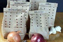 Opbevaring af grønt, frugt og madvare