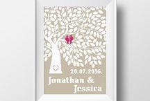 Wedding x-stitch