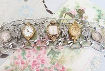 Vintage Watch Jewelry / I love working with vintage watches. They are so nostalgic!