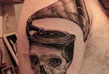 etching/engraving tatto