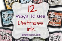 12 ways to use Distress ink