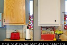 Cabinet makeovers / by Amy White