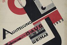 Bauhaus Plakate / Plakate