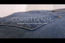 CORSET DENIM™ / !iT Collective's Newest Denim. Built with ultimate stretch and comfort. Supporting where you need it. Taking years off your figure.