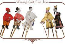 Wayang Kulit Cina-Jawa / Shadow puppets of China-Java Indonesia